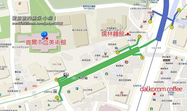 市廳站地圖 -1
