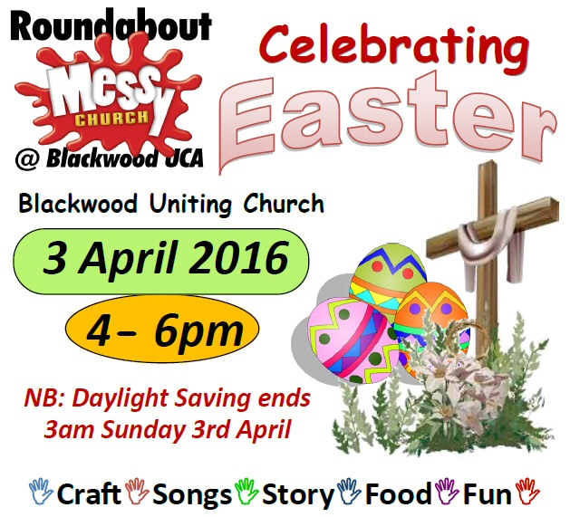 Messy Easter 2016 Blackwood Uniting Church
