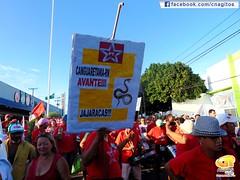 Natal/RN - Mobilização contra o Golpe - Fls: Fátima Souza
