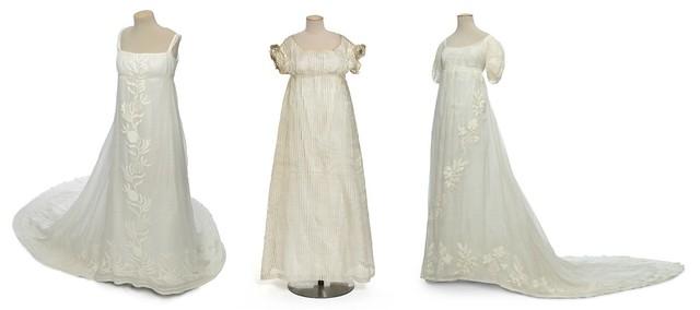 Trois robes Empires