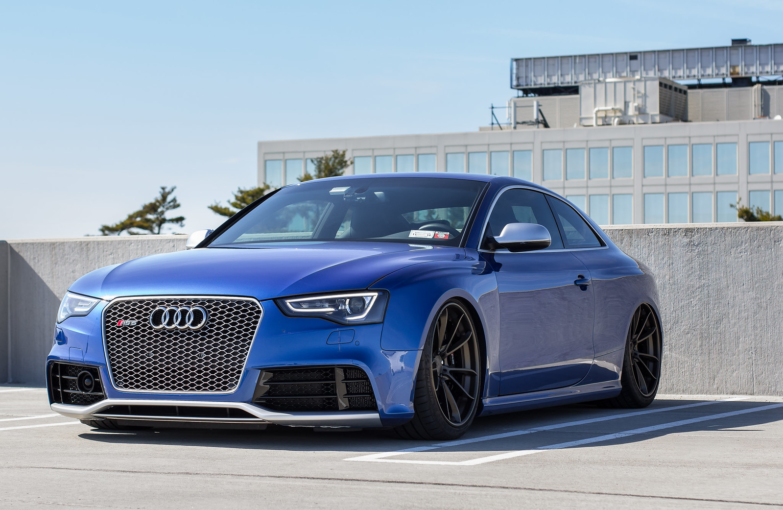 Audi rs5 2015 blue 19
