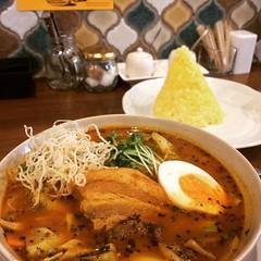 kakuni soup curry level 2 at SidMid❤︎  #庄内#大阪#スープカレー #sidmid #shonai #osaka #soupcurry #latergram