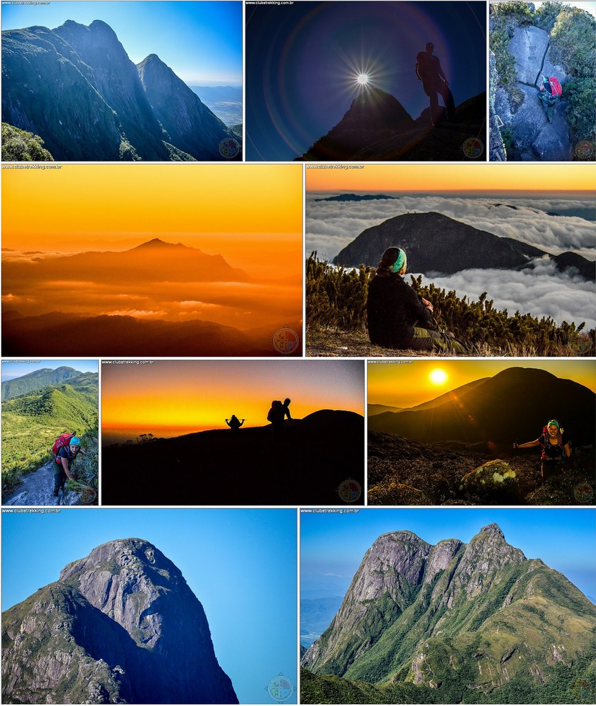 Travessia na Serra do Ibitiraquire PR - Clube Trekking Santa Maria RS_2