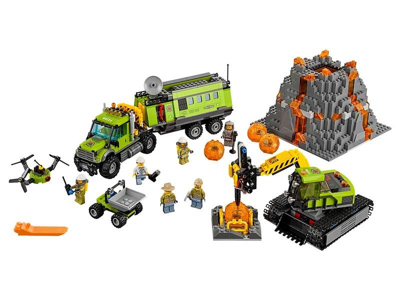 LEGO City Set 2016 - LEGO City Volcano Research Base (60124)