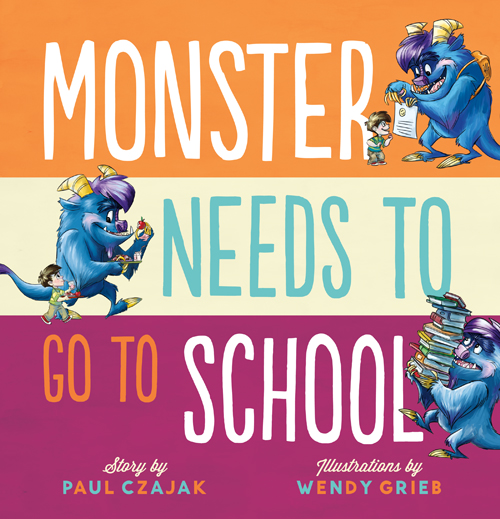 Monster School Cover