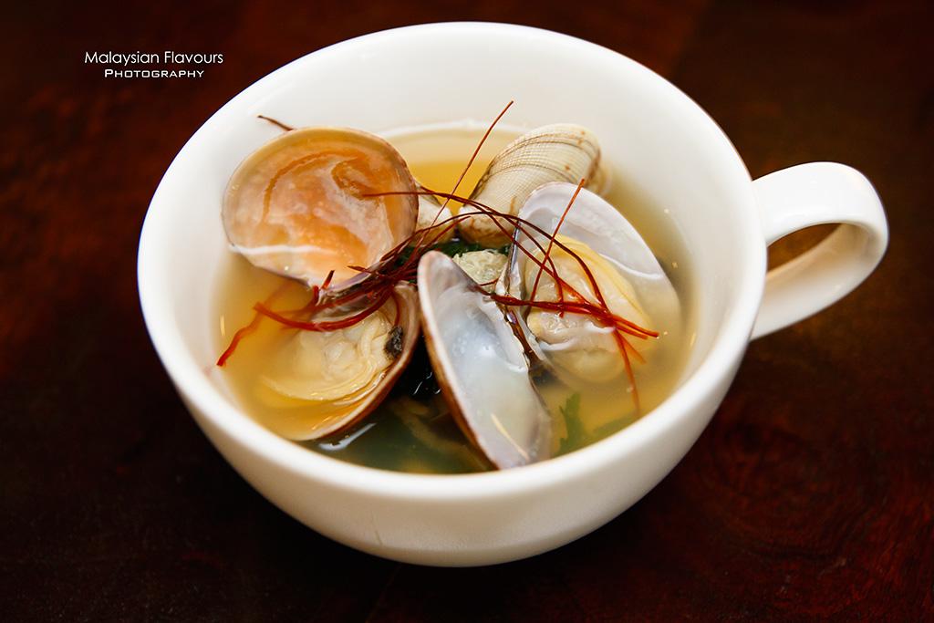 Minori Japanese Restaurant Royale Chulan Hotel steamed egg