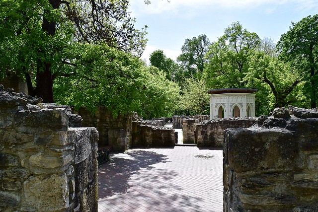 Ruins on Margaret Island