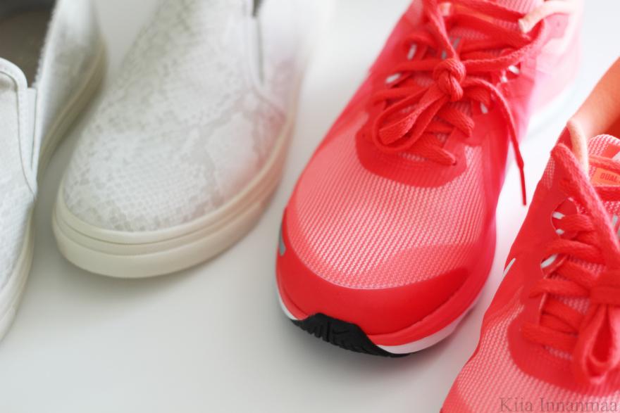 uudet kengät