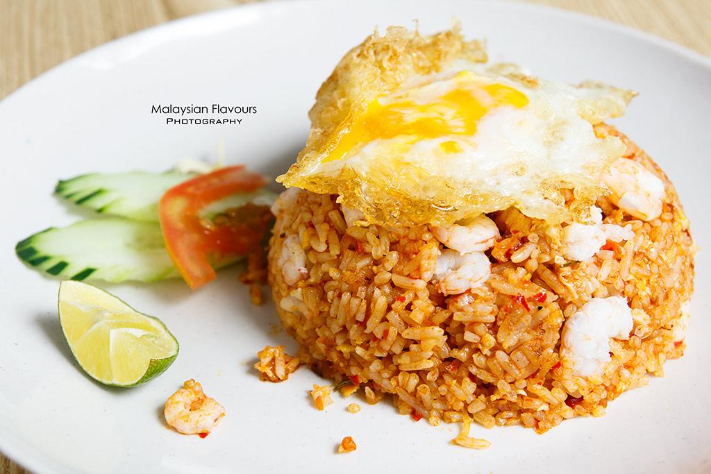 Streat Thai tom yum fried rice