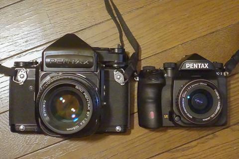 PENTAX K-1 とPENTAX 67