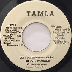 STEVIE WONDER:DO I DO W:Harmonica solo(LABEL SIDE-A)