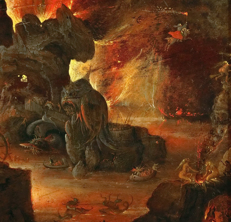 Roelant Savery - Orpheus in the Underworld, 1610-5 (detail 2)