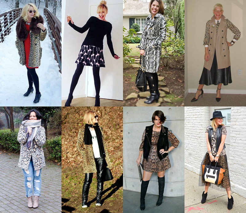 Fashion bloggers in animal print #iwillwearwhatilike