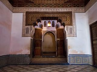 Billede af Bahia Palace i nærheden af Menara.