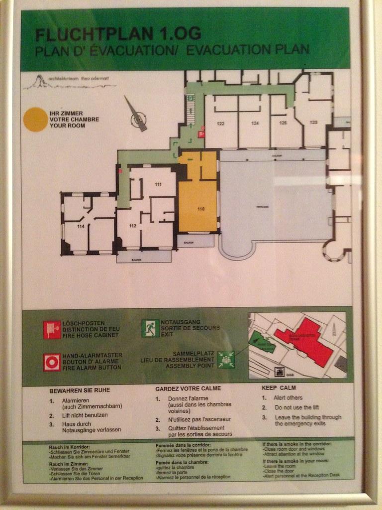 Schlosshotel layout