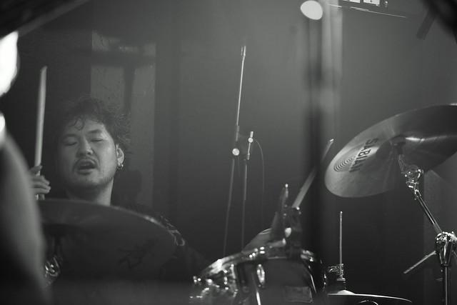 RoundFace live at 獅子王, Tokyo, 22 Jan 2016. 341