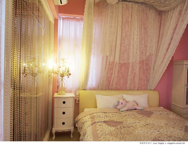 【台東 Taitung】安琪拉公主民宿 浪漫粉紅色調 鄰近台東火車站的實惠住宿 @薇樂莉 ♥ Love Viaggio 微旅行