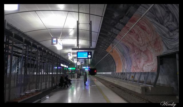 Laponia viaje Madrid Helsinki - Estación de tren del aeropuerto
