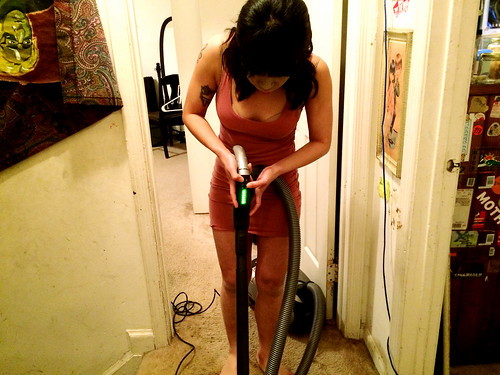 Ana Vacuuming (January 7 2015) (2)