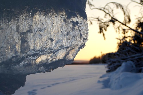 lake ice finland frozen include raanujarvi