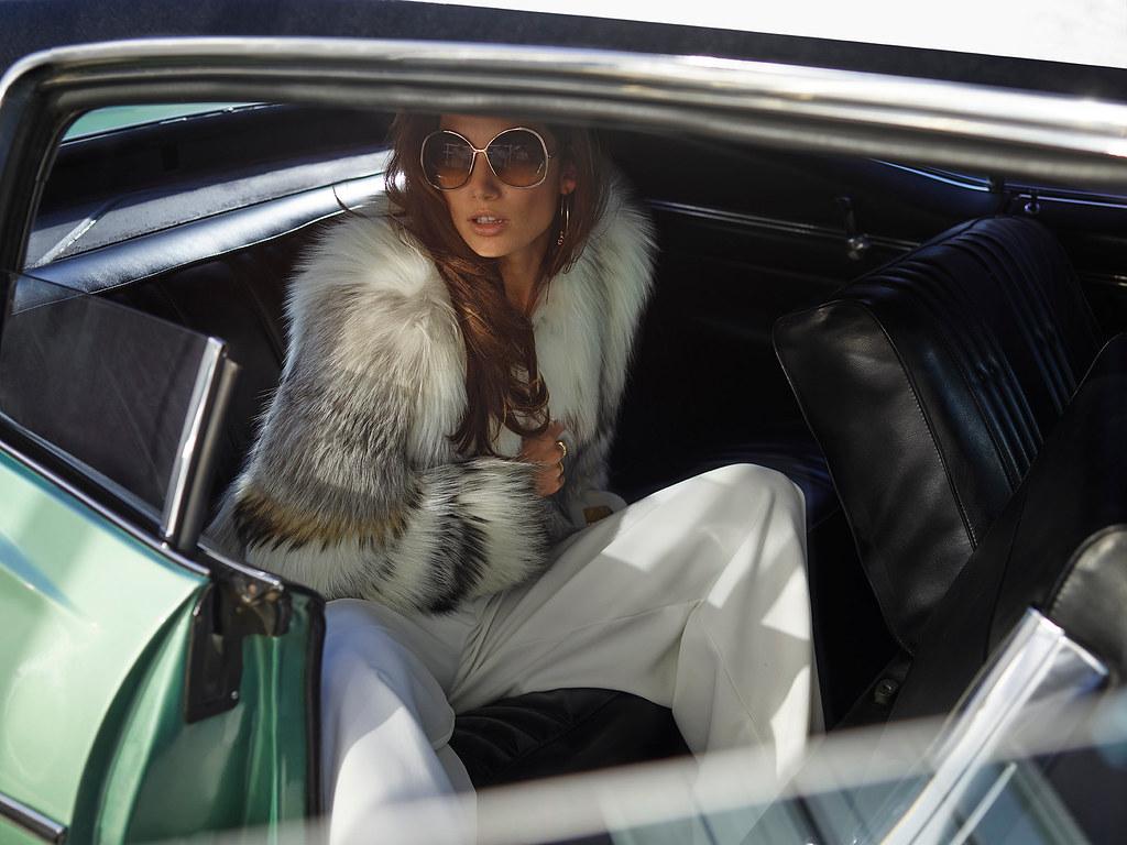 Лили Олдридж — Фотосессия для «Vogue» ES 2015 – 2