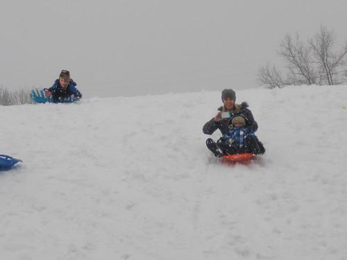 sledding jan8-13