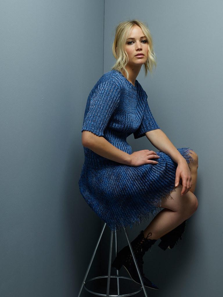 Дженнифер Лоуренс — Фотосессия для «Dior» JM 2015 – 8