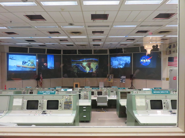 Historic Mission Control by Jean Martin