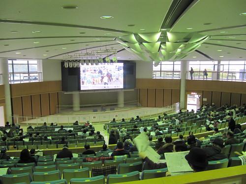 京都競馬場のシグネットホール