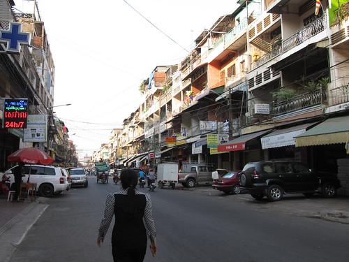 Phnom Penh: notre quartier
