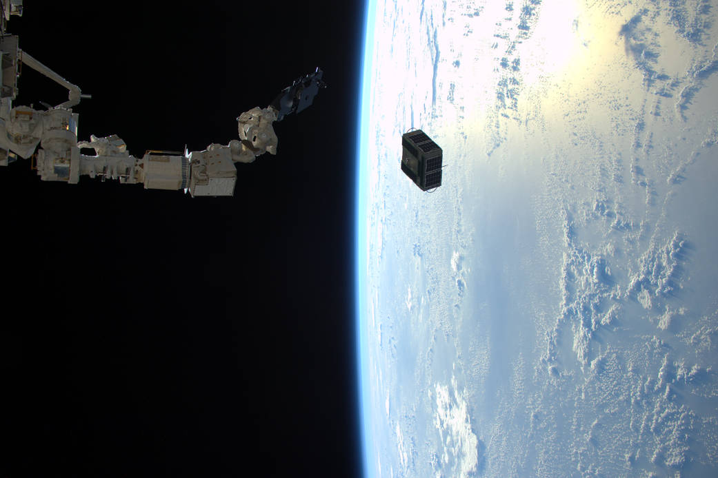 Successful Deployment of University Satellites From Space Station