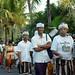 Ein Prozessions-Ritus am Abend auf der Heimfahrt; Bali, Indonesien (3)
