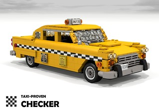 Checker A11 - 1981 (New York City Taxi)