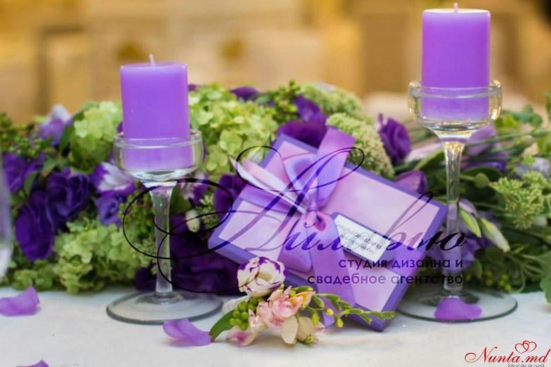 Agenția de organizare a sărbătorilor - «Айлавью» > Violetul – una dintre culorile sofisticate și de lux.