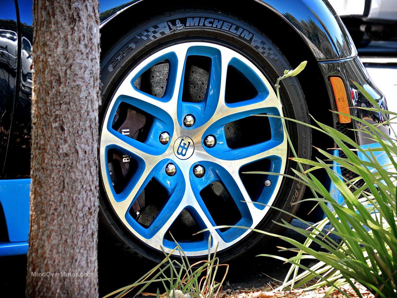 Bugatti Veyron Grand Sport Vitesse Blue Carbon 9