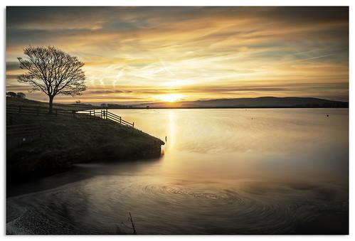 sunrise yorkshire ngc reservoir yorkshiredales embsay 2015 d600 embsayreservoir nikkor1635mmf4 nikonfxshowcase