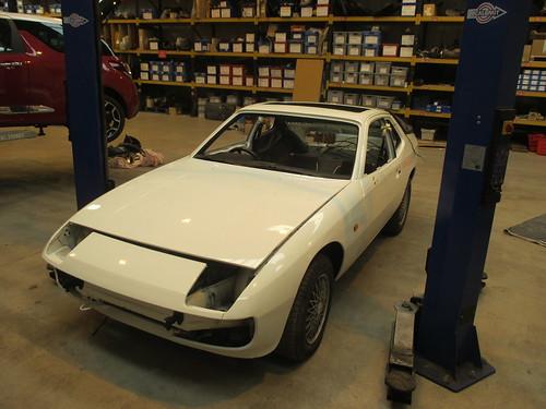 924 Porsche Le Mans Project