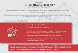 Poster Oprec FFPJ 2016