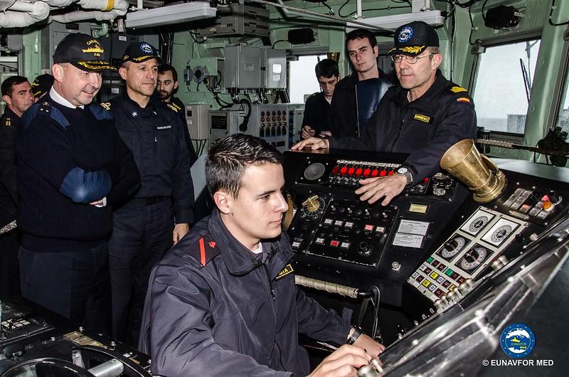 Adm. Bléjean handover Op Sophia Deputy operation commander responsibilities – EUNAVFOR MED