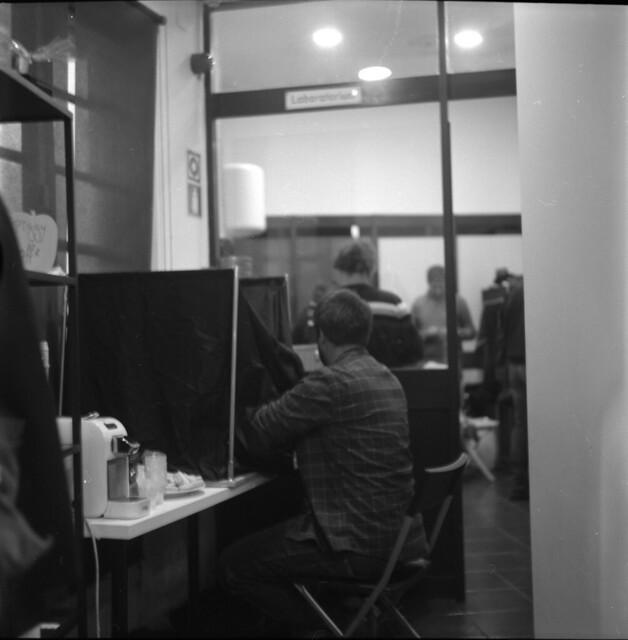 At the B&W Film development wokshop