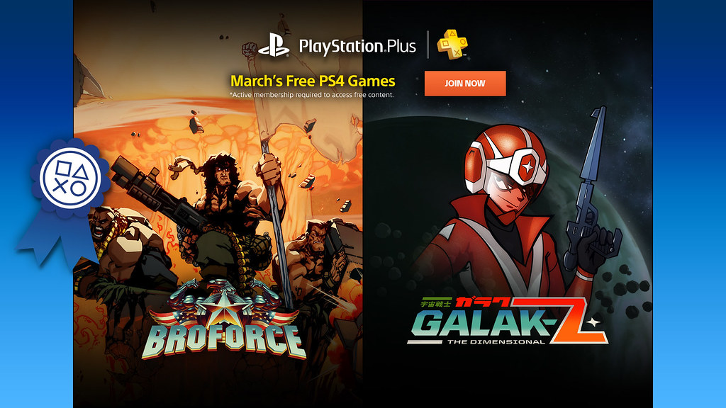 PS Plus March 2016