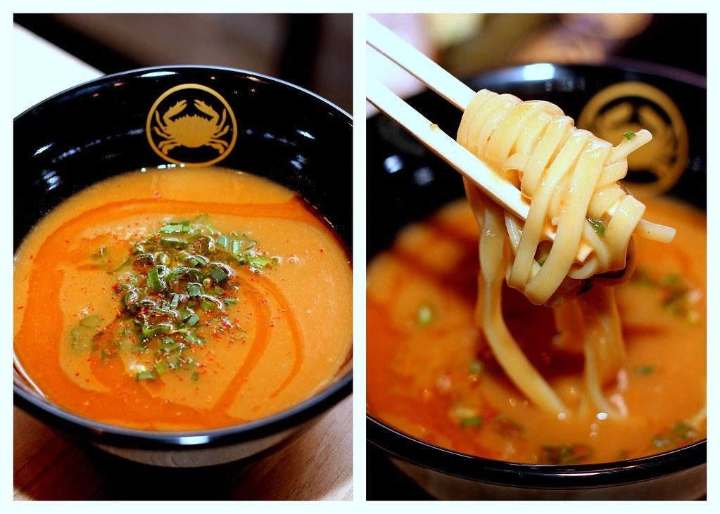 ramen keisuke kani king tsukemen crab dipping noodles