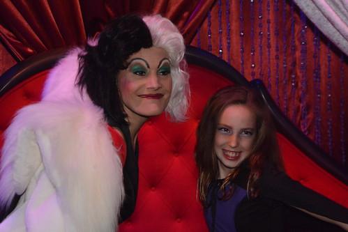 Cruella de Vil at Club Villain at Disney's Hollywood Studios in Disney World (247)