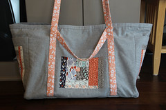Sewing Circle Tote Front