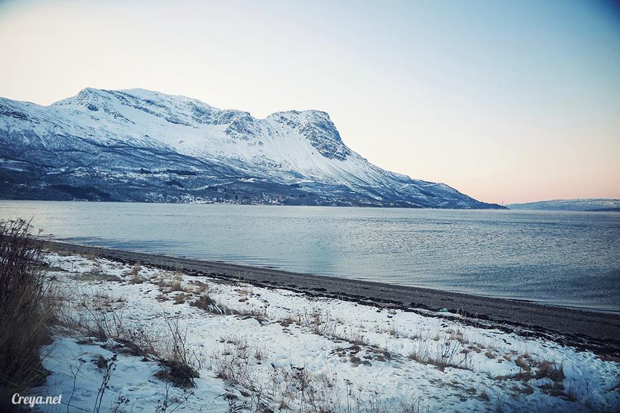 2016.02.23▐ 看我歐行腿 ▐ 阿呀~一不小心就從瑞典到了挪威, Narvik 小鎮遇見地理課本中的峽灣 20.jpg