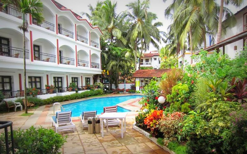 Ronil Beach Resort at Baga Goa