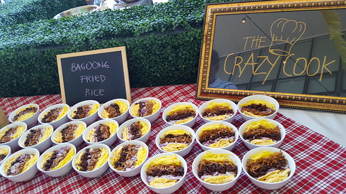Bagoong Fried Rice from The Crazy Cook Carmina Mapa Del Rosario | Davao Gourmet Collective 2016: Food and the City at SM Lanang Premier - DavaoFoodTripS.com