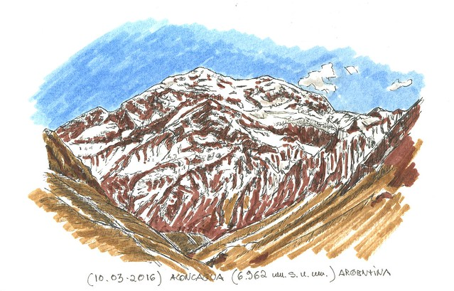 Aconcagua (6.962 m.s.n.m.)