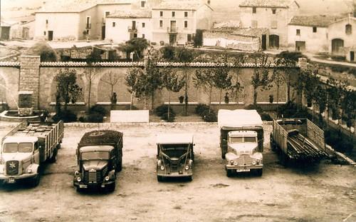 Camions La Panadella-arxiu Ajuntament Montmaneu