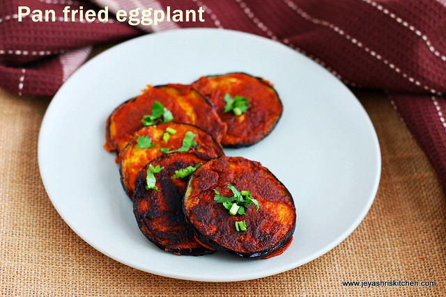 pan fried eggplant